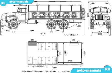 В данном руководстве Урал 3255