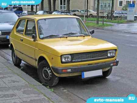 В данном руководстве Fiat 127