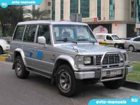 Автосервис Hyundai Galloper: ремонт Хендай Галлопер в