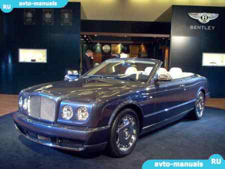 Bentley Azure - руководство по ремонту