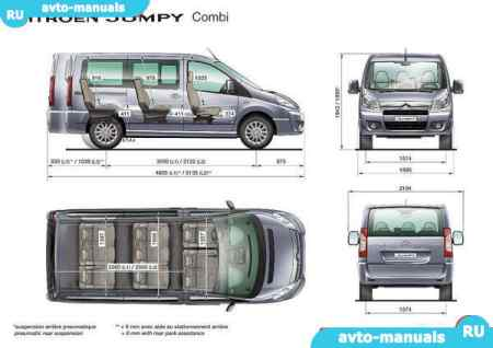 Citroen Jumpy - руководство по ремонту