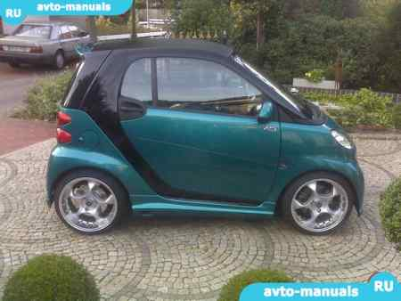 MCC Smart Fortwo - запчасти